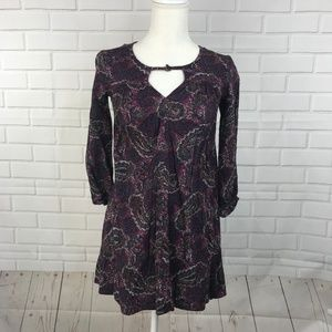 American Eagle Outfitter Women Tunic Dress Paisley